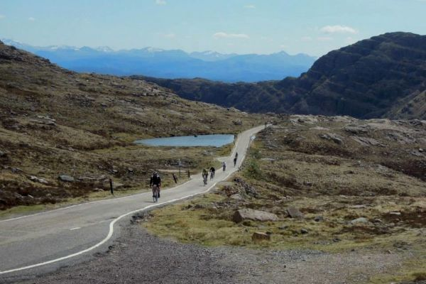 Cycling on the Bealach